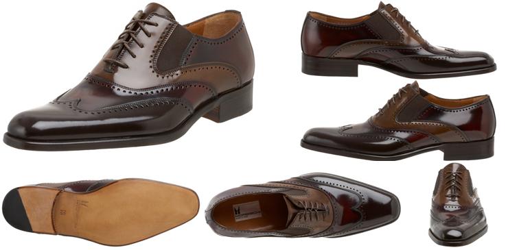 Moreschi Destra Wing Tip Shoes